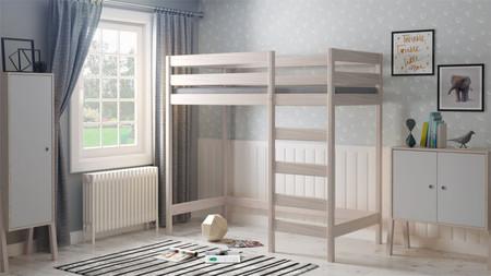 mezzanin säng